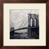 Bridges of Old Poster by John Douglas