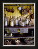 Old Style Kitchen Print by Guillaume De Laubier
