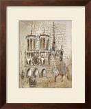 Notre Dame Posters by Elizabeth Jardine