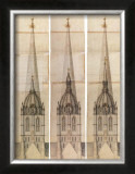 Central Tower 2 Prints by Nicholas Hawksmoor