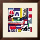 Sortie de Vehicules Prints by Fernando Costa