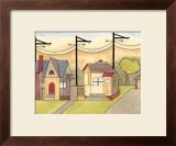 Urban and Suburban III Prints by Vanna Lam