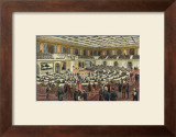 Hall of House of Representatives Prints by George Goodwin Kilburne