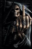 Spiral - Bone Finger Póster