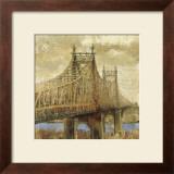 East River Bridge II Posters by Michael Longo