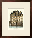 Petite French Chateaux XI Print by Victor Petit