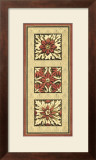 Rosette Tapestry I Posters