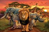 African Kingdom Plakaty