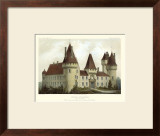 Petite French Chateaux I Prints by Victor Petit