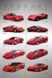 Ferrari - Dream Machines - Poster