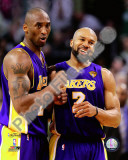 Kobe Bryant & Derek Fisher Game Three of the 2010 NBA Finals Photo