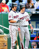 Joe Mauer &amp; Justin Morneau 2010 Photo