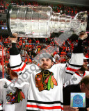 David Bolland with the 2010 Stanley Cup Photo