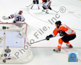 Claude Giroux Game Four of the 2010 NHL Stanley Cup Finals Goal Photo