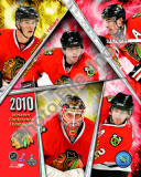 2009-10 Chicago Blackhawks Western Conference Champions Team Photo