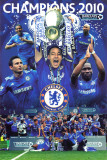 Chelsea F.C. - 2010 Champions Posters
