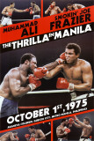 Muhammad Ali Thrilla in Manilla Poster