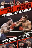 Muhammad Ali Thrilla in Manilla Poster