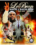 Lebron James Back 2 Back MVP Photo