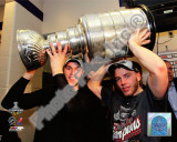 Jonathan Toews & Patrick Kane With the 2010 Stanley Cup Photo