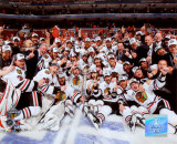 2009-10 Chicago Blackhawks Team Photographie