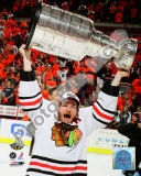 Duncan Keith with the 2010 Stanley Cup Photo
