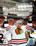 Brian Campbell with the 2010 Stanley Cup Photo