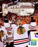 Patrick Kane with the 2009-10 Stanley Cup Photo