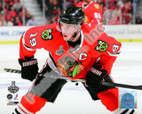 Jonathan Toews Game One of the 2010 NHL Stanley Cup Finals Photographie