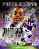 Percy Harvin Offensive Rookie Of The Year Fotografía