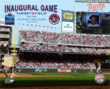 Target Field 2010 Inaugural Game 1st Pitch Photo