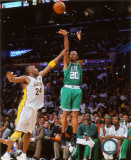 NBA Ray Allen Game Two of the 2009-10 NBA Finals Photo