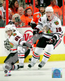 Patrick Kane & Jonathan Toews 2009-10 NHL Stanley Cup Finals Game 3 Photo