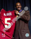 Donovan McNabb 2010 Press Conference Photo