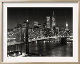 New York, New York, Brooklyn Bridge Prints by Henri Silberman