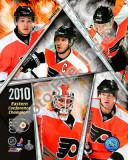 Philadelphia Flyers 2009-10 Eastern Conference Champions Team Photo