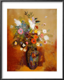 Bouquet of Flowers Prints by Odilon Redon