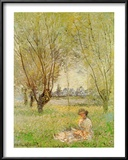 Woman Under the Willows Art by Claude Monet