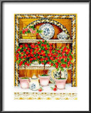 Blossoming Kitchen III Posters by Jean-Pierre Delyle