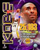 Kobe Bryant Los Angeles Lakers All-Time Leading Scorer Photo