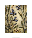Lavender Goodbyes Premium Giclee Print by Christina Long