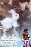 Alenka v říši div (citát vangličtině) Fotografie