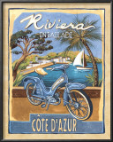 Riviera Poster by Charlene Audrey