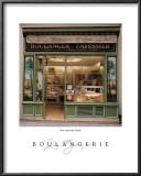 Boulangerie Print by Dennis Barloga