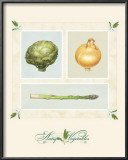 Antique Vegetables Posters by Alex Bloch