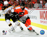 Simon Gagne 2009-10 Playoff Photo