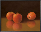 Still Life with Apples Art by T. C. Chiu