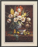 Chinese Vase Bouquet Prints by T. C. Chiu