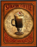 Spanish Coffee Pôsteres por Gregory Gorham