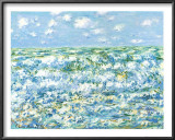 Mare Agitato Print by Claude Monet